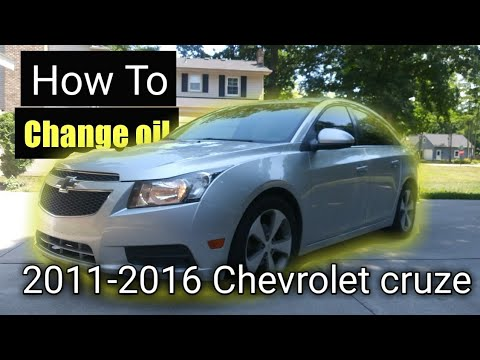 How To Change Oil On A 2011 Chevy Cruze(aveo, Sonic, Trax)
