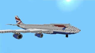 I Got A Real AIRPLANE to ADVERTISE My Minecraft Server...