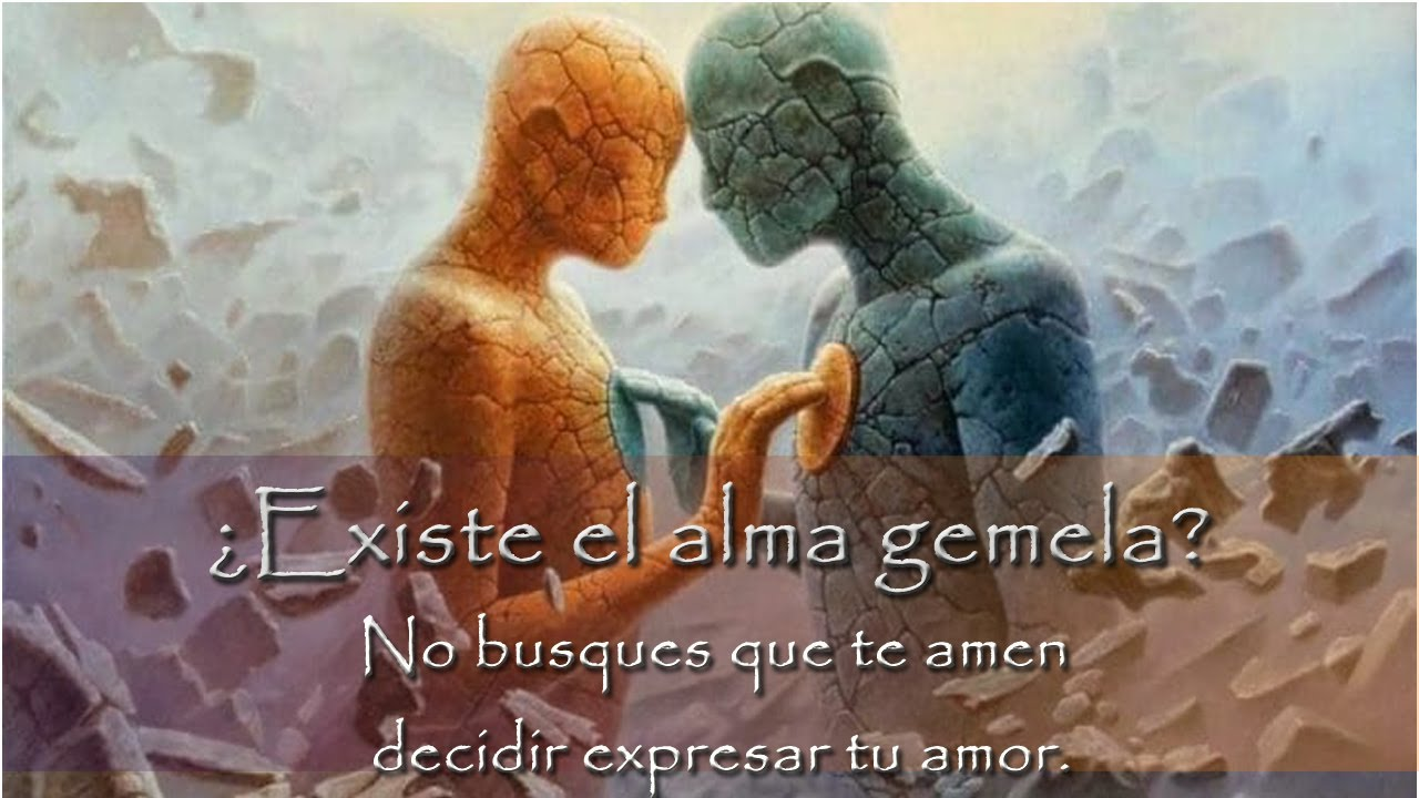 ¿Existe el alma gemela? No busques que te amen decidir expresar tu amor.