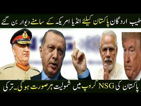 Turkey Supports Pakistan In NSG