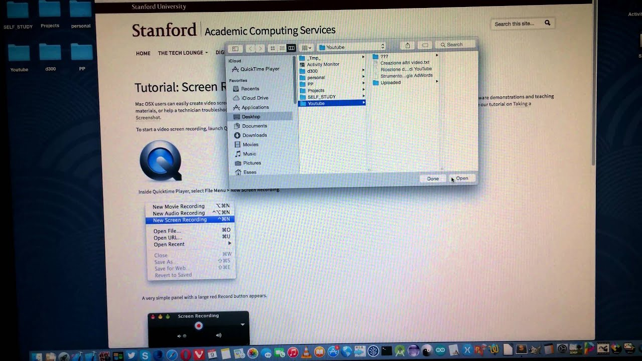 Mac os x free screen recorder using quicktime youtube mac os x free screen recorder using quicktime ccuart Images