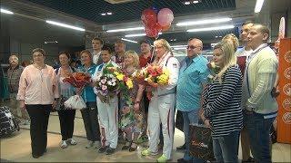 Возвращение Алены Филюшкиной и Светланы Бизякиной с 23-х Летних Сурдлимпийских игр