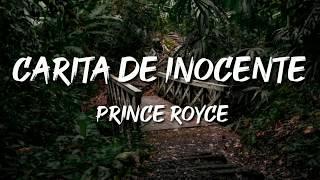 Prince Royce - Carita De Inocente (Lyrics / Letra)
