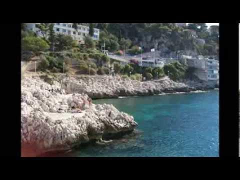 French Riviera coastal walk, Nice - Villefranche sur Mer
