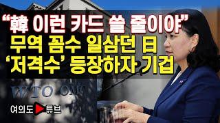 """[여의도튜브] """"韓 이런 카드 쓸 줄이야"""" 무역 꼼수 …"""