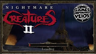 Nightmare Creatures 2 Playthrough Final - Level 8: Eiffel Tower