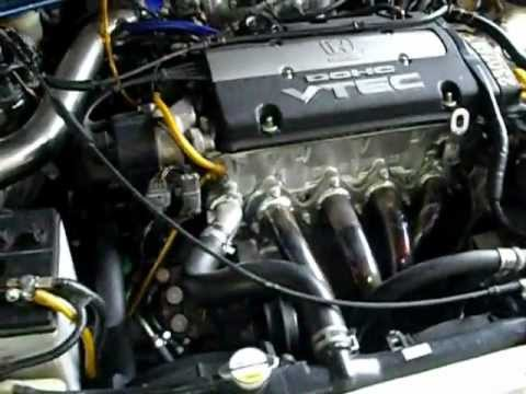 Honda Sm4 Cb3 H22a - YouTube