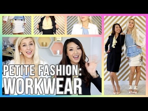 PETITE FASHION TIPS: How to Dress for an Interview/Office