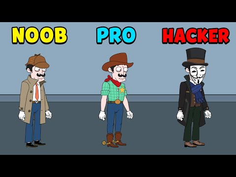 NOOB vs PRO vs HACKER | Anger Of Stick 5| mr1 from YouTube · Duration:  7 minutes 11 seconds