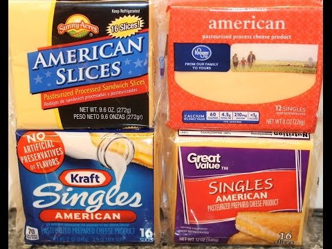 Sliced American Cheese Blind Taste Test: Kraft, Kroger, Sunn