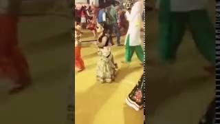 Cute Garba Dancer