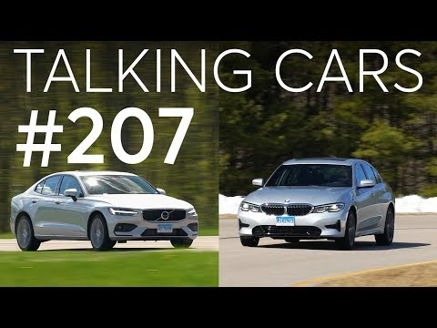 2019 BMW 330i and 2019 Volvo S60 Matchup| Talking Cars with Consumer Reports #207