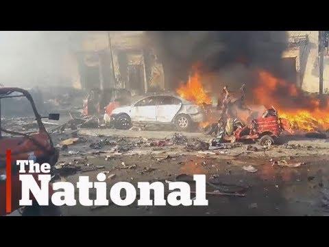 Mogadishu rocked by deadly bomb explosions