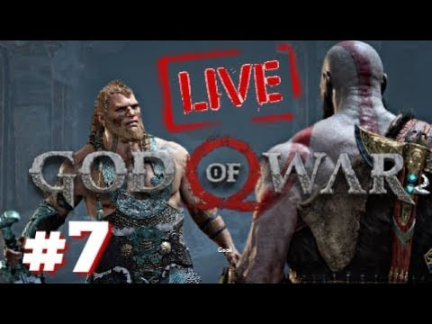GOD OF WAR | LiveStream/Part 7 - Son's of THOR!!