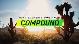 Monster Energy Supercross - The Official Videogame - Compound DLC Trailer