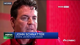Ousted Papa John's founder: The pizza doesn't taste as good