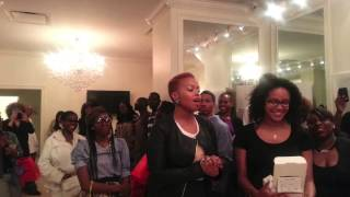 "♥ Chrisette Michele ""BETTER"" Album Listening Party NYC & Shout Out - Natural Curly Hair ♥"