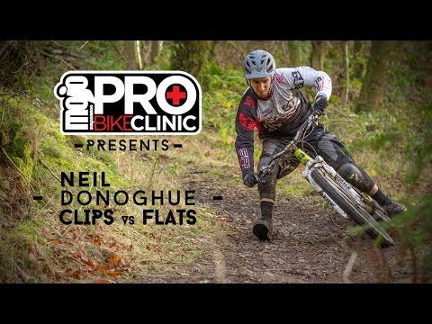 Mojo Pro Bike Clinic, Clips Vs Flats with Neil Donoghue. Which is Best?
