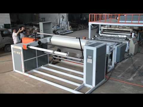 PE air bubble wrap film machine