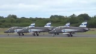 Finnish Air Force Midnight Hawks RIAT2017 フィンランド空軍 ミッドナイトホークス