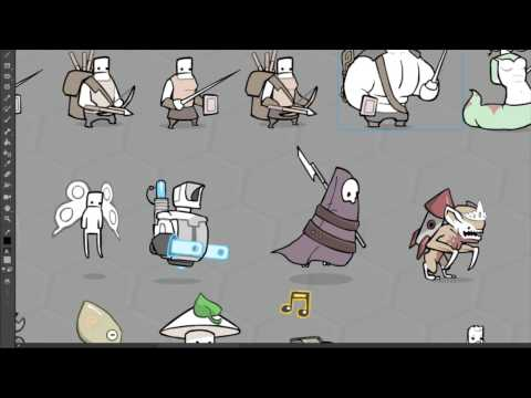 Pit People Art Stream - Collectible Items in Update 3 - 동영상