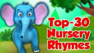 Top 30 Hindi Nursery Rhymes For Kids   Hindi Kavita   Little Treehouse India   Top Hindi Poems