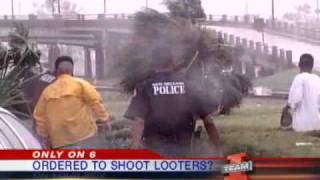 NOPD Officer Says They Were Ordered To Shoot Looters After Katrina