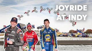 Pastrana, Rossi, and Duffy Turn Indy Motor Speedway into a Personal Playground | Keys To The Track