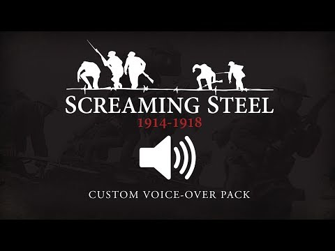 Screaming Steel Mod - British Soldier Voice