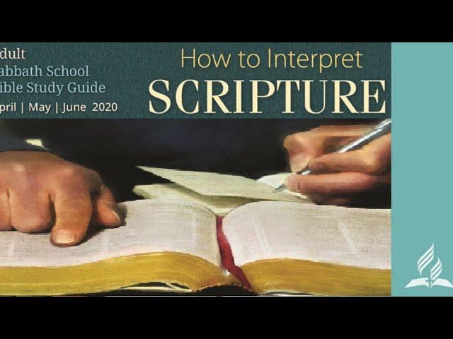 Sabbath School | Pr Bhawani and Pr Ardon | May 30, 2020