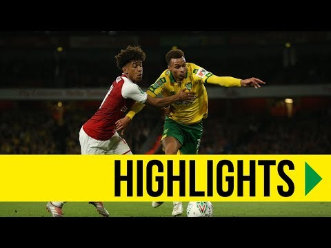 CARABAO CUP HIGHLIGHTS: Arsenal 2-1 Norwich City