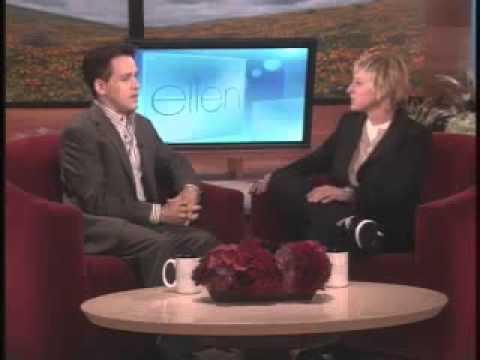 TR Knight talks to Ellen about the birthday gift
