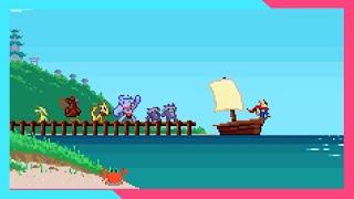 【Google Doodle Champion Island】New Trophies \u0026 Games | Leave Island