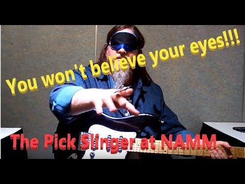 You Won't Believe The NAMM Pick Slinger Blindfold Test!!!!