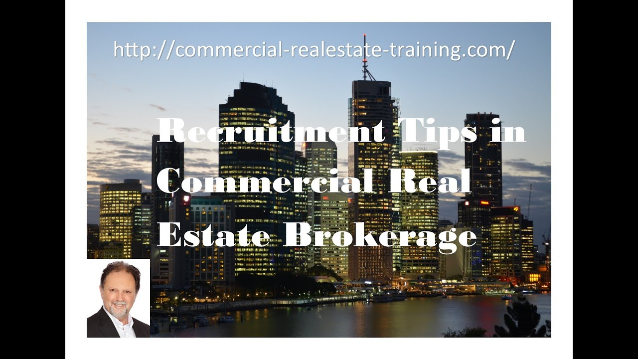 how to become a commercial real estate broker