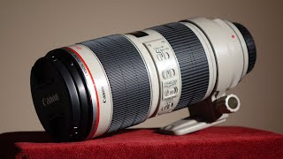Unboxing the Canon 70-200mm f/2.8L IS II USM Lens