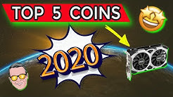My TOP 5 GPU MINING COINS For 2020!