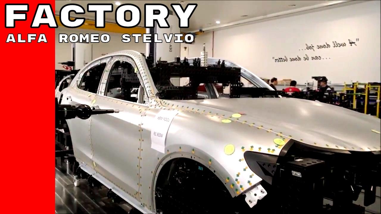 2018 Alfa Romeo Stelvio Production Factory Youtube