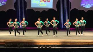 UCDC Shining Stars Amateur - Moving Line - 2016 CCA Showdown