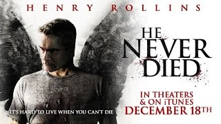 He Never Died Red Band Trailer 2015 Horror   Booboo Stewart, Henry Rollins   HASHTAG TRAILERS