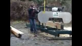 Industrial Bandsaw Mill - Backyard Portable Bandsaw Mill