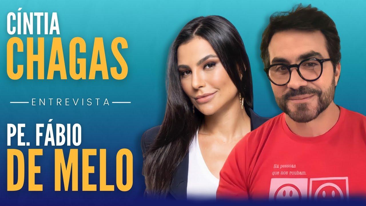 O Português Alentador de Pe. Fábio de Melo - Entrevista com Cíntia Chagas