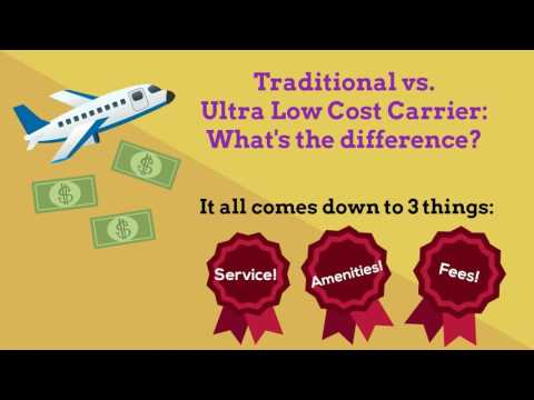 Traditional Airlines vs. Ultra Low Cost Carriers