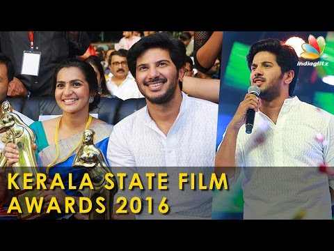 Dulquer Salmaan and Parvathy grabs Kerala State Film Award for the first time