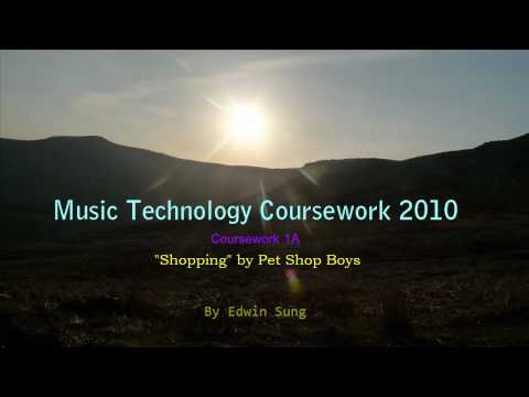 Edexcel AS level Music Technology Coursework 2010 [1A]