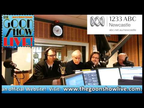 The Goon Show LIVE! Cast interview on 1233 ABC Newcastle.