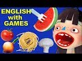 Cooking Spaghetti in Toca Kitchen app | FUN ENGLISH FOR KIDS