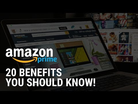20 Amazon Prime Benefits You Should Know About!