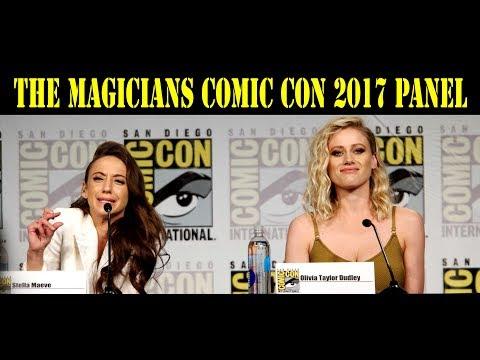 The Magicians Comic Con Panel 2017  Olivia Taylor Dudley, Jason Ralph, Stella Maeve, Arjun Gupta