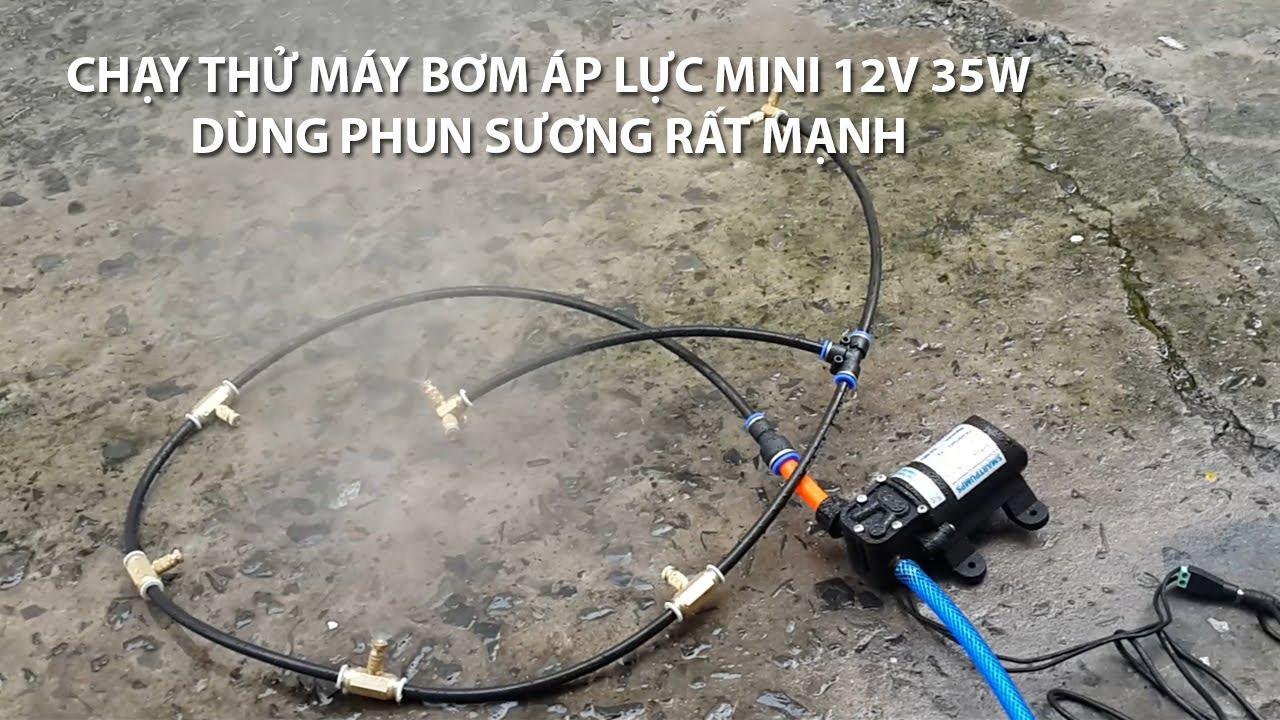 máy phun sương mini 12V